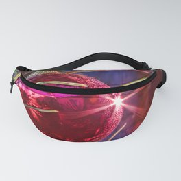Red Ornament Fanny Pack