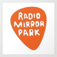 Radio Mirror Park Art Print