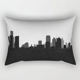 City Skylines: Detroit Rectangular Pillow