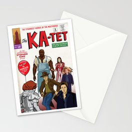 The Ka-Tet comic book cover Stationery Cards