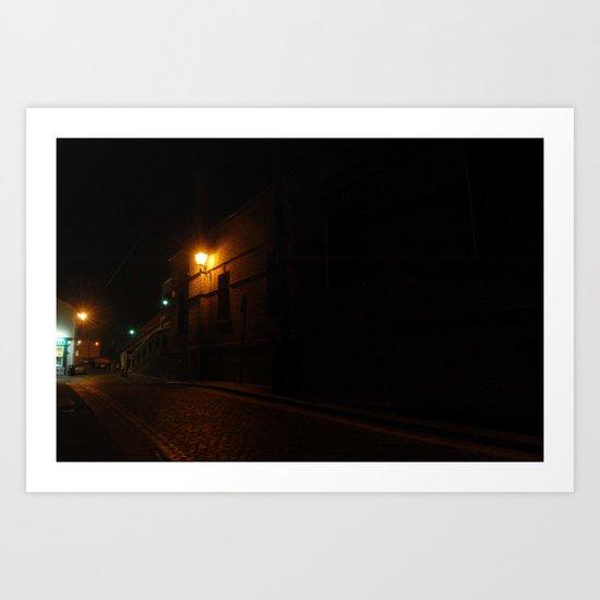 Evening Lights Art Print