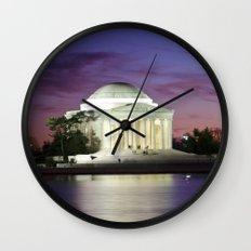 Jefferson Sunset Wall Clock