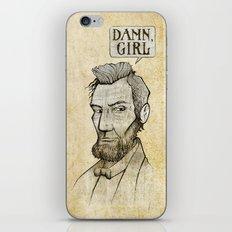 Damn, Lincoln iPhone & iPod Skin