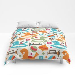 Happy childhood Comforters