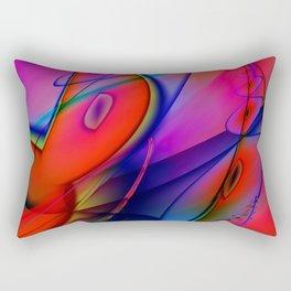 Rich Abstract 2 Rectangular Pillow