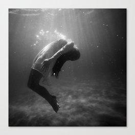 Underwater Peace Canvas Print