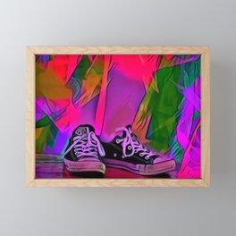 Dance Shoes Framed Mini Art Print