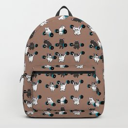 OLYMPIC LIFTING  FRENCH BULLDOG Backpack