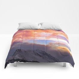 Flat Top Storm Clouds - Alaska Comforters