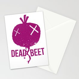 Dead beet Stationery Cards