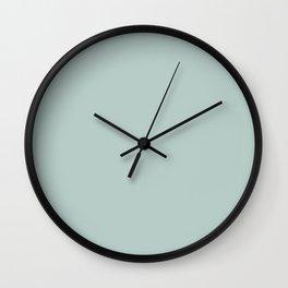 Forest Fern Green Wall Clock