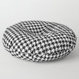 Houndstooth Classic With Bevel Floor Pillow