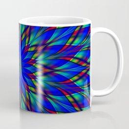 Stained glass flower mandala Coffee Mug