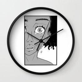Crying Close Wall Clock