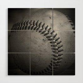 Baseball Wood Wall Art