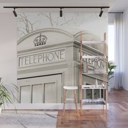 London telephone booth Wall Mural