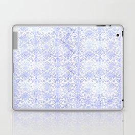 Periwinkle Damask Laptop & iPad Skin
