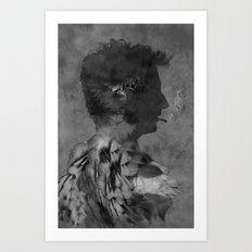 A tribute to Alain Bashung Art Print