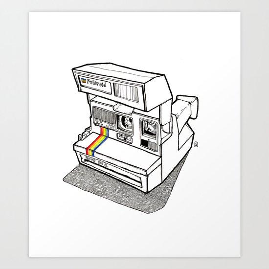 Polaroid Spirit 600 CL Art Print