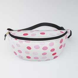 New confetti dots in red Fanny Pack