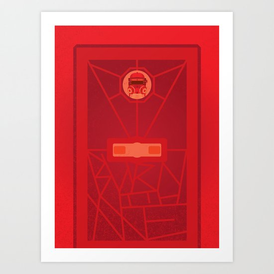 Burn with Me (doctor who) Art Print