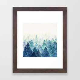 Fade Away Framed Art Print