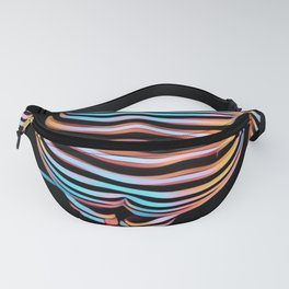 1262s-MAK Abstract Nude Woman Rendered Composition Style Fanny Pack
