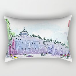 20160828-6 Borobudur Rectangular Pillow
