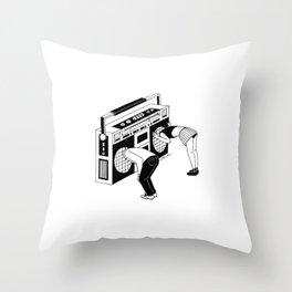 Radiohead Throw Pillow