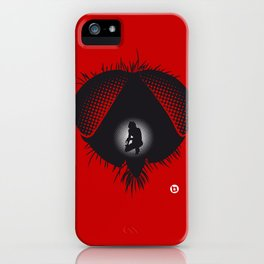 The Fly (Red Collection) iPhone Case