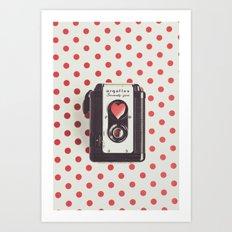 Love Photography Art Print