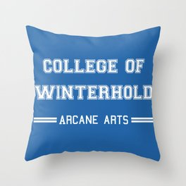 College of Winterhold Throw Pillow