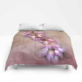 Pink Glads Comforters