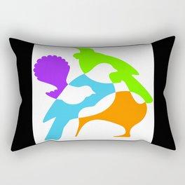 Four Natives Rectangular Pillow