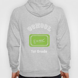 1st First Grade Mathematician Back to School print Hoody