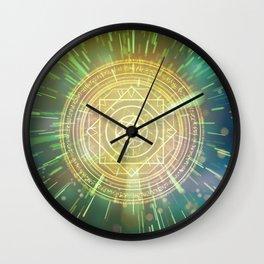 Strange Magic Mandala 3 Wall Clock