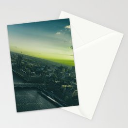 Sunset, in London Stationery Cards