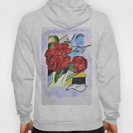 Whimsical Roses Hoody