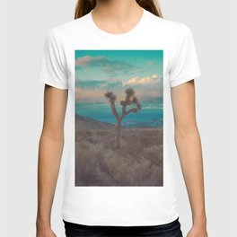 Joshua Tree Aqua Sunset T-shirt