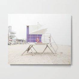 Purple Tower 3 Metal Print