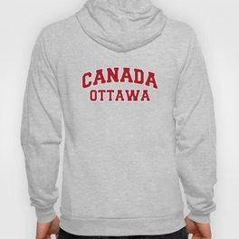 Ottawa Canada City Souvenir Hoody