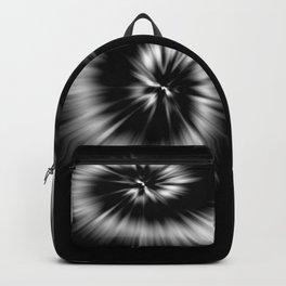 TIE DYE #1 (Black & White) Backpack