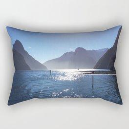 New Zealand's beauty *Milford Sound Rectangular Pillow