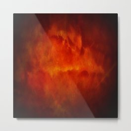 Paradise Fire - Memorial - Fire In The Sky - Clouds Of Fire Metal Print