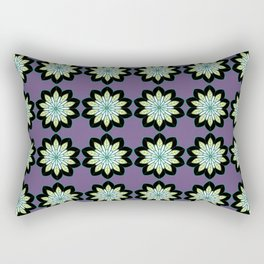 Flower Pattern Rectangular Pillow
