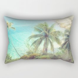 Dreamy Beach Portrait Rectangular Pillow