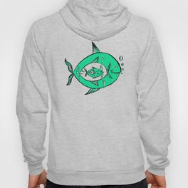 It's a big fish kind of world! Hoody