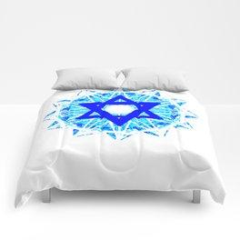 Jewish Star Comforters