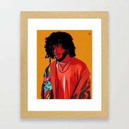 6LACK Framed Art Print
