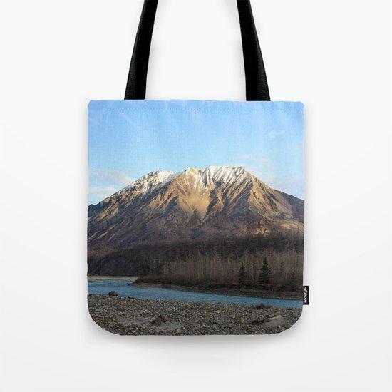 Blue Creek, Alaska Tote Bag